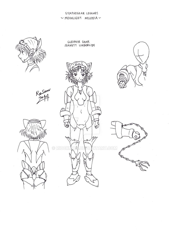 Gleipnir Gear design by riockman