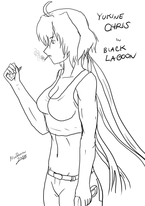 Yukine Chris (Black Lagoon Parody) by riockman