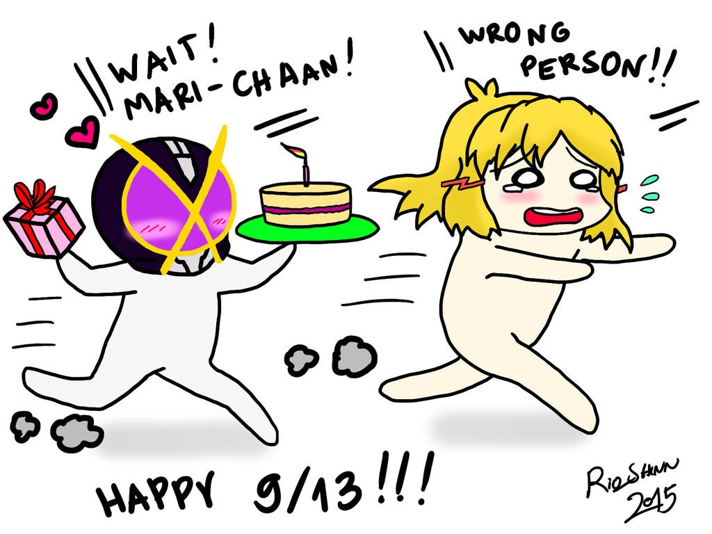 Creepiest Birthday Ever by riockman