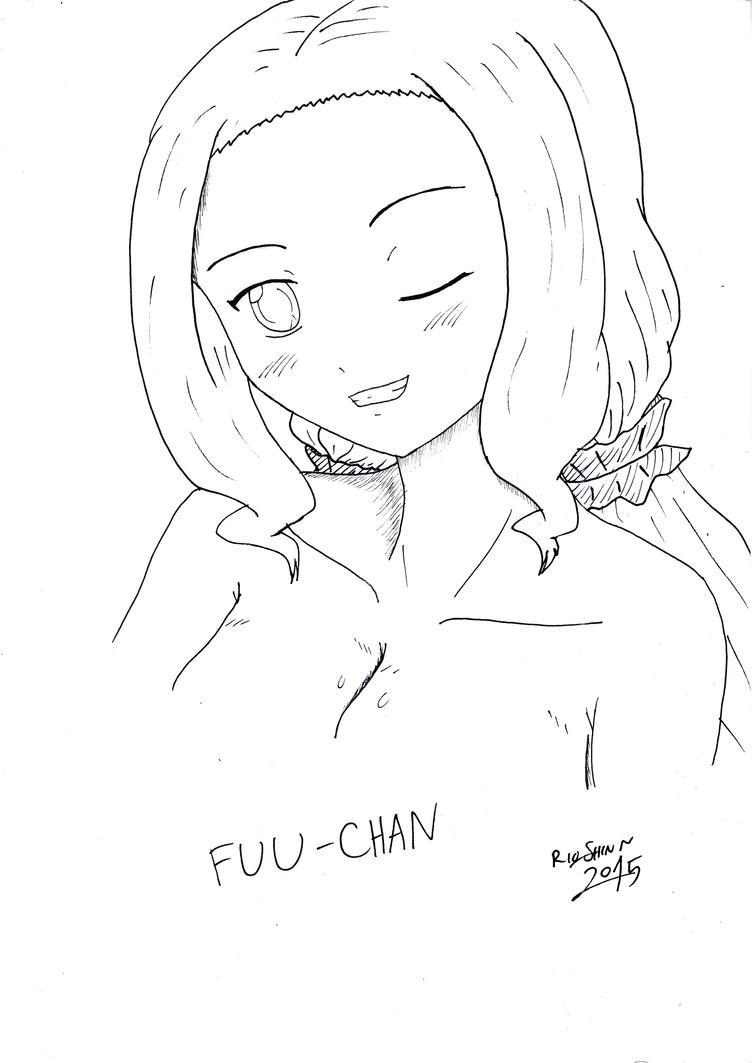 Inktober (2) - Fuu Inubouzaki by riockman