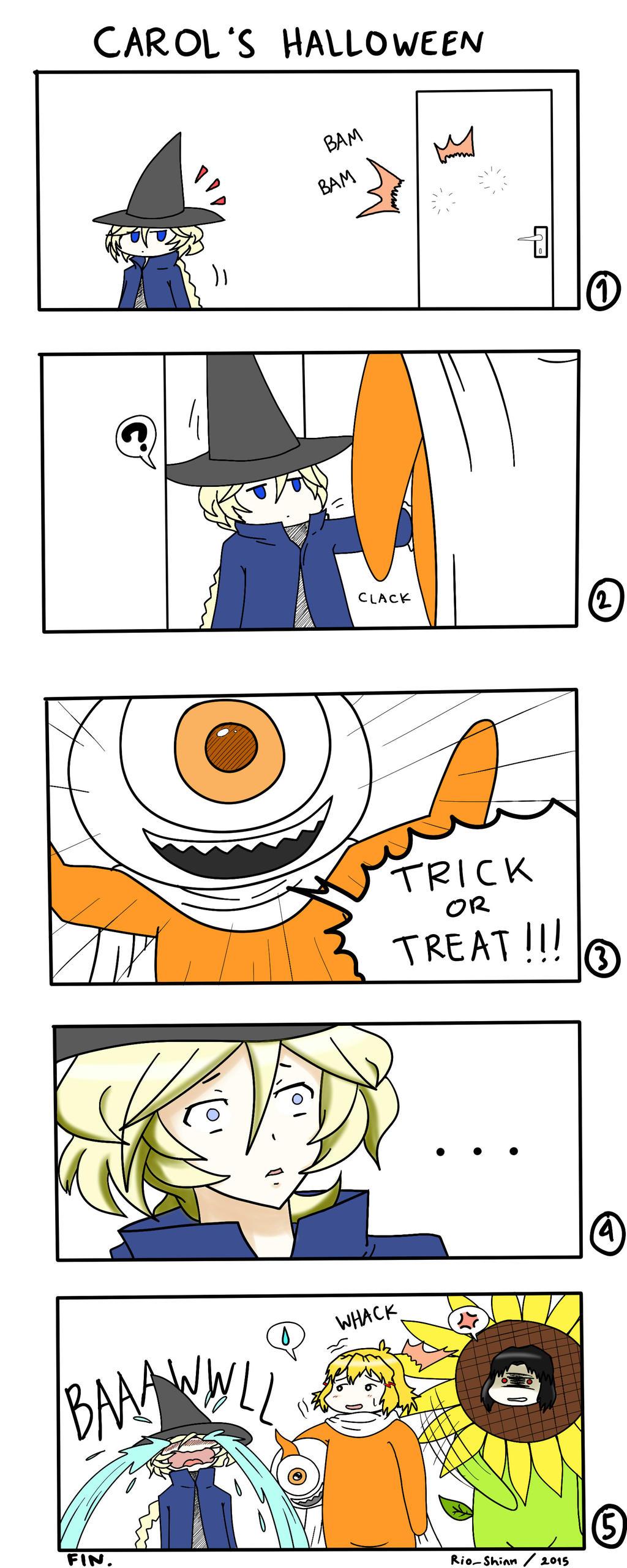 Carol's Halloween by riockman