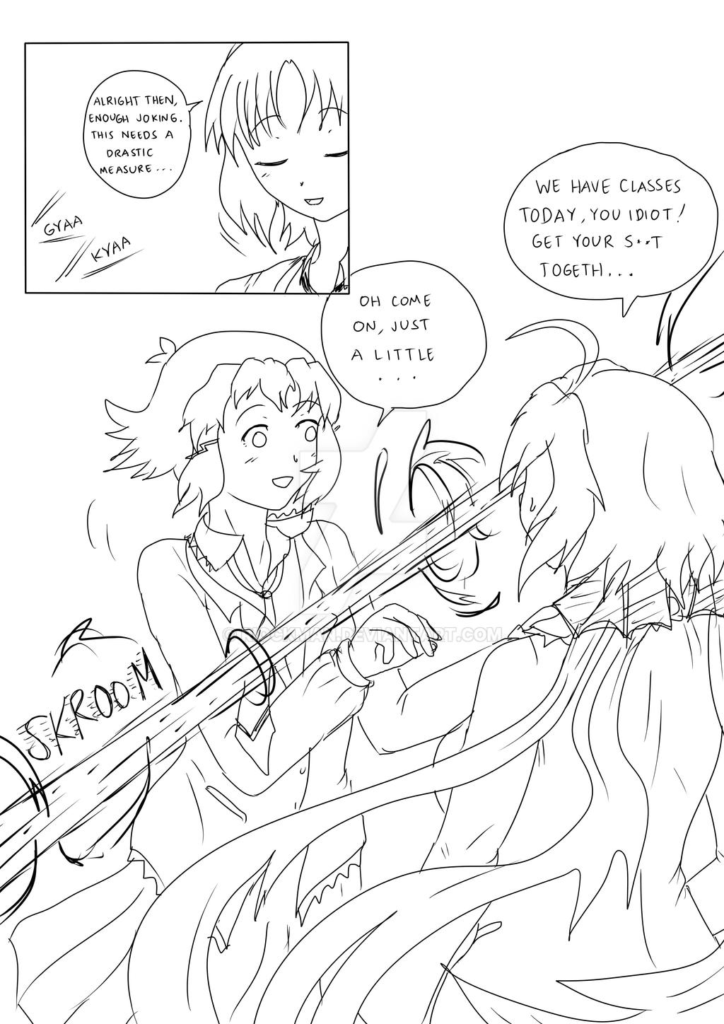 MEGADETH SYMPHONY - Page 4 (rough sketch) by riockman