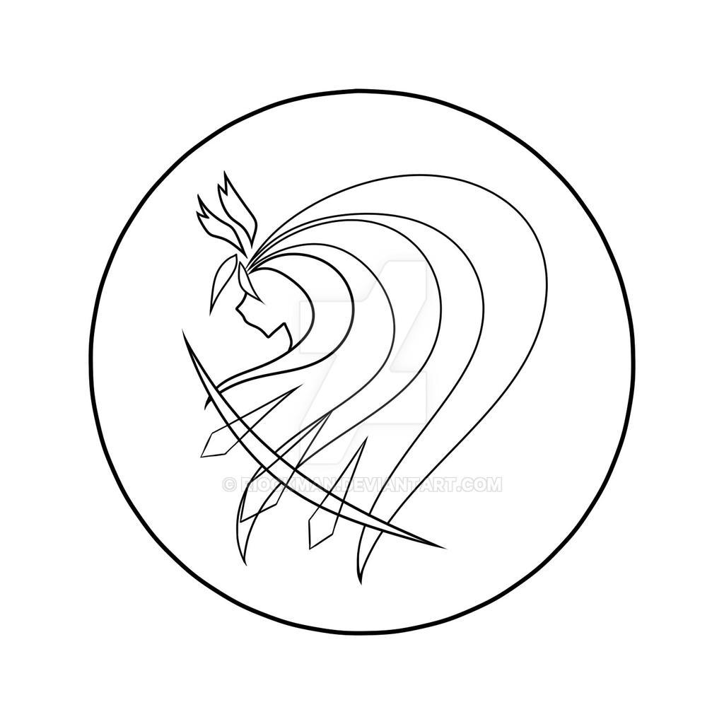 Aethercore - Artemis (Lineart) by riockman