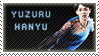 Yuzuru Hanyu stamp by kari-00