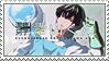 Keppeki Danshi! Aoyama-kun stamp by kari-00