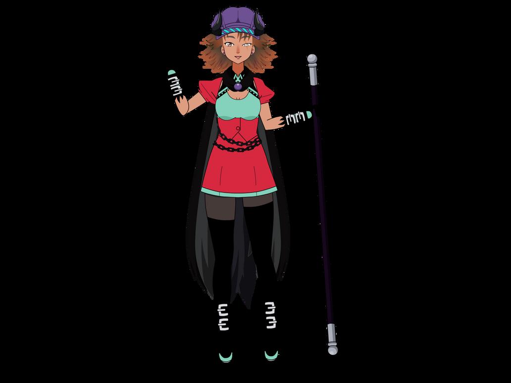 Friendly demon girl by kari-00