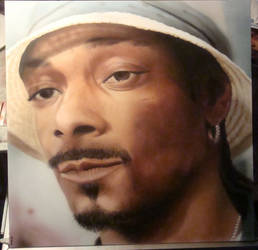 Snoop Dogg by FingerprintsAirbrush