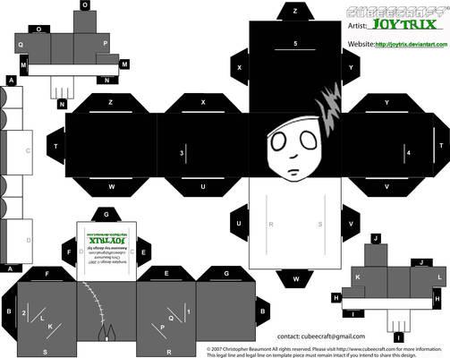 Ghostgirl Cubeecraft Template