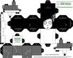 Ghostgirl Cubeecraft Template
