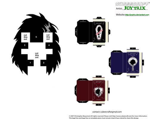 Ghostgirl Cubeecraft2 Template
