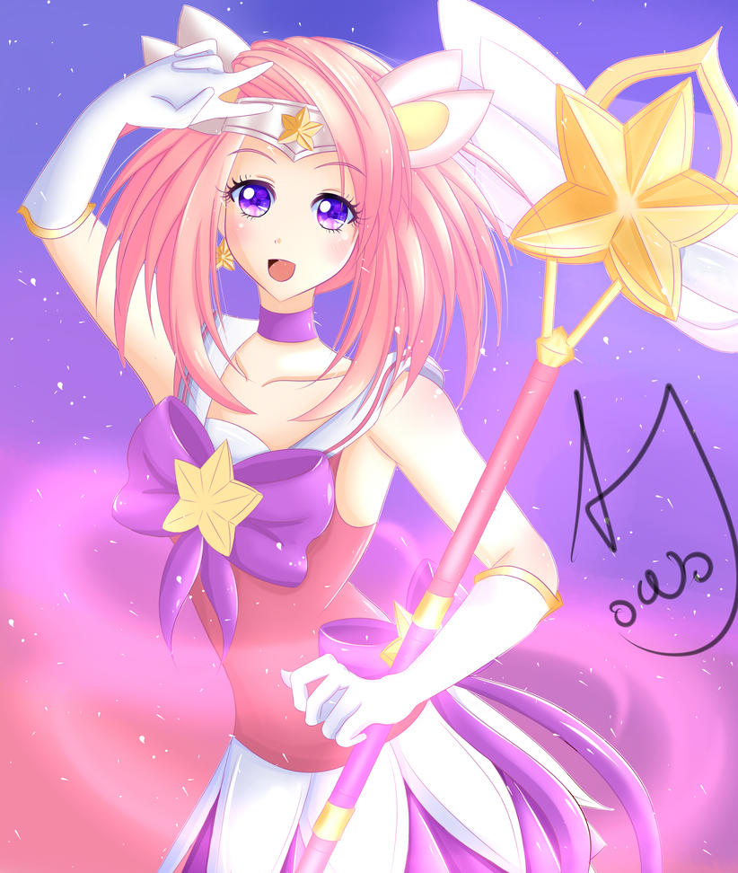 Star Guardian Lux by andrinaandug