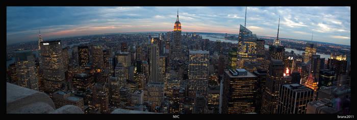 NYC Panorama by tigerjet