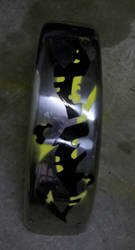Custom Fenders - Spray Paint