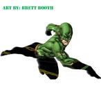 Brett Booth: Wally West as Inertia DCnU Concept