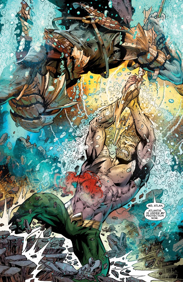 Aquaman Durability by MadFacedkid