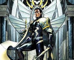 Black Bolt the Midnight King