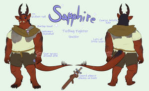 Sapphire Ref sheet