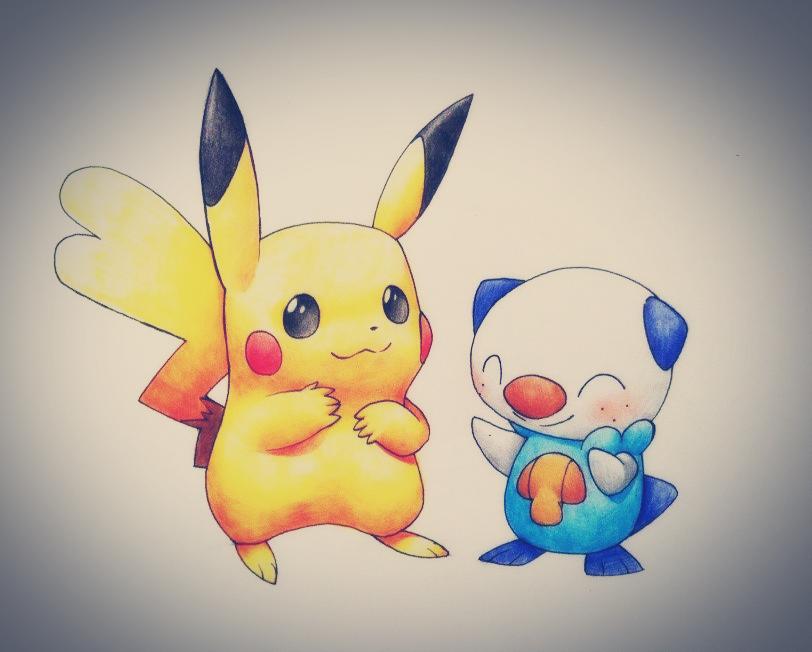 Oh Arceus, I drew a Pikachu by Sylvaur