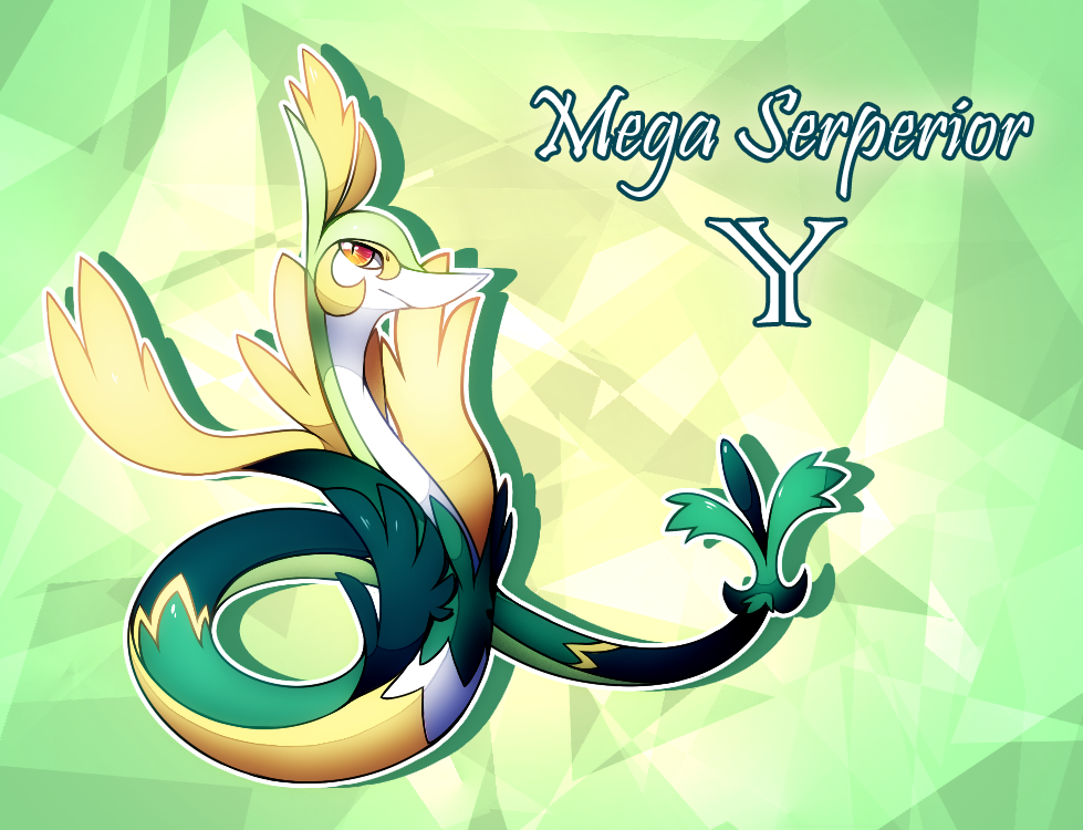 Mega Serperior Y by Sylvaur on DeviantArt