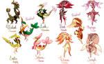 Pokemon Variations - Lopunny - Servine -