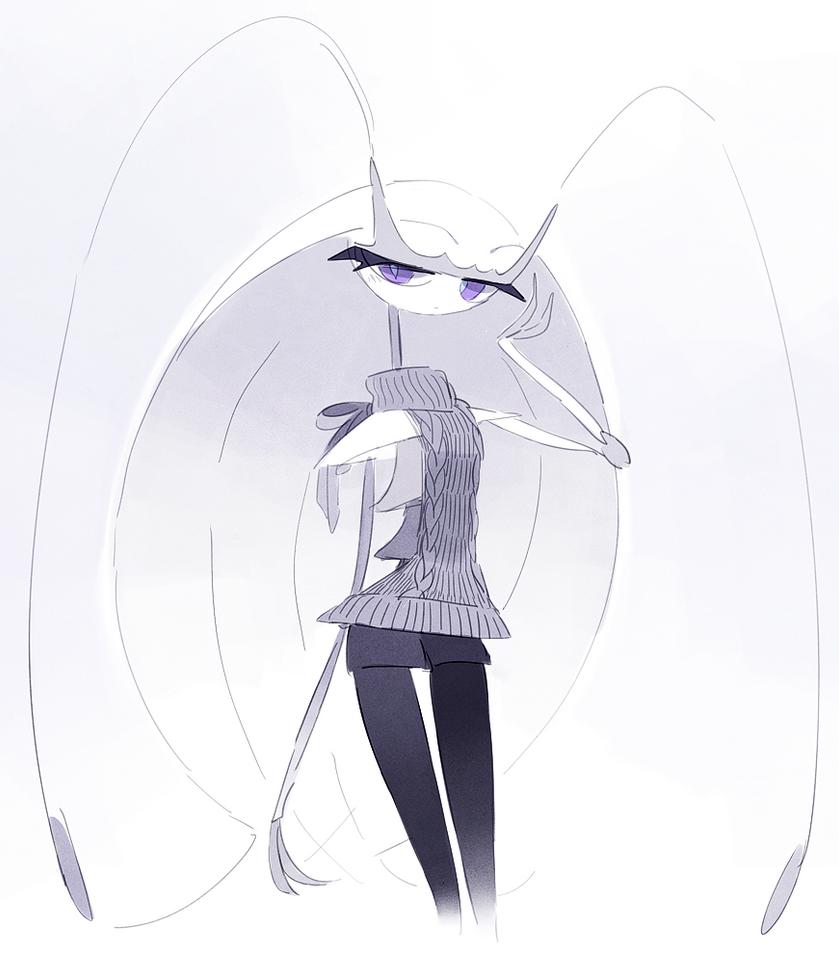 Beautiful high fashion roach monster by Sylvaur