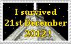 I survived 21st December 2012 by catelee2u