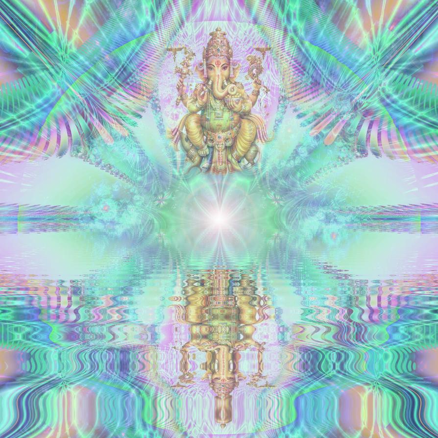 Sri Ganesha by catelee2u