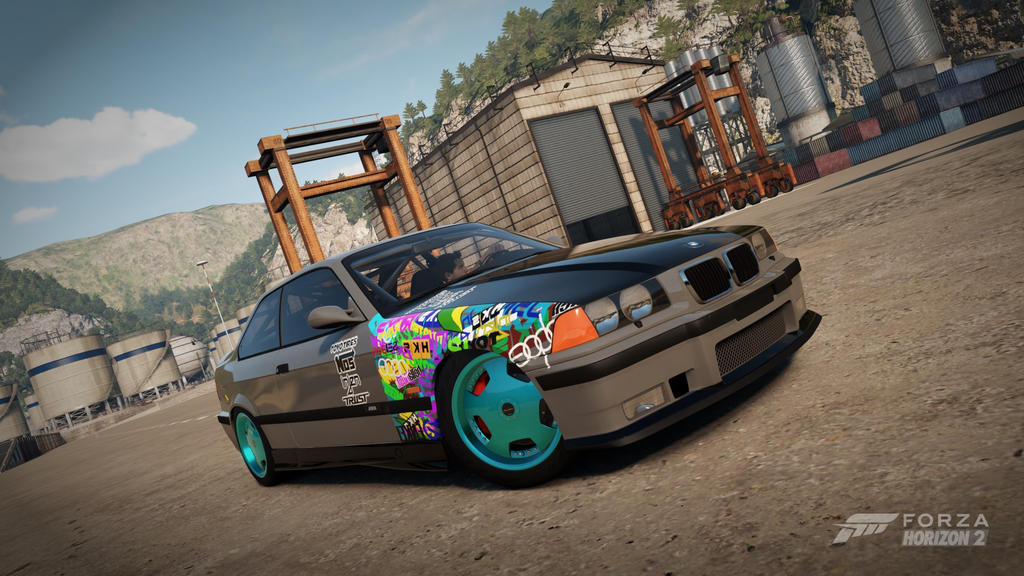 Stickerbomb M3 by DrifterXRacer