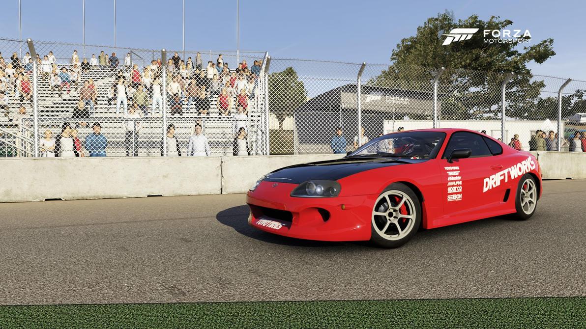 Forza 6 Toyota Supra Drift Practice Car by DrifterXRacer