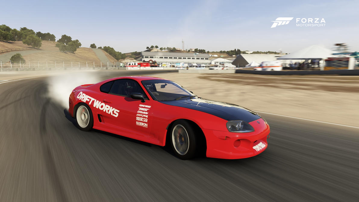 Forza 6 Drifting Supra by DrifterXRacer