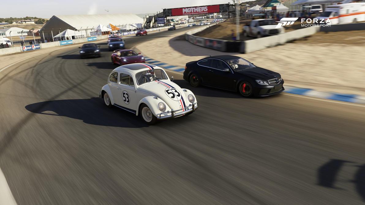 Herbie Cornering by DrifterXRacer