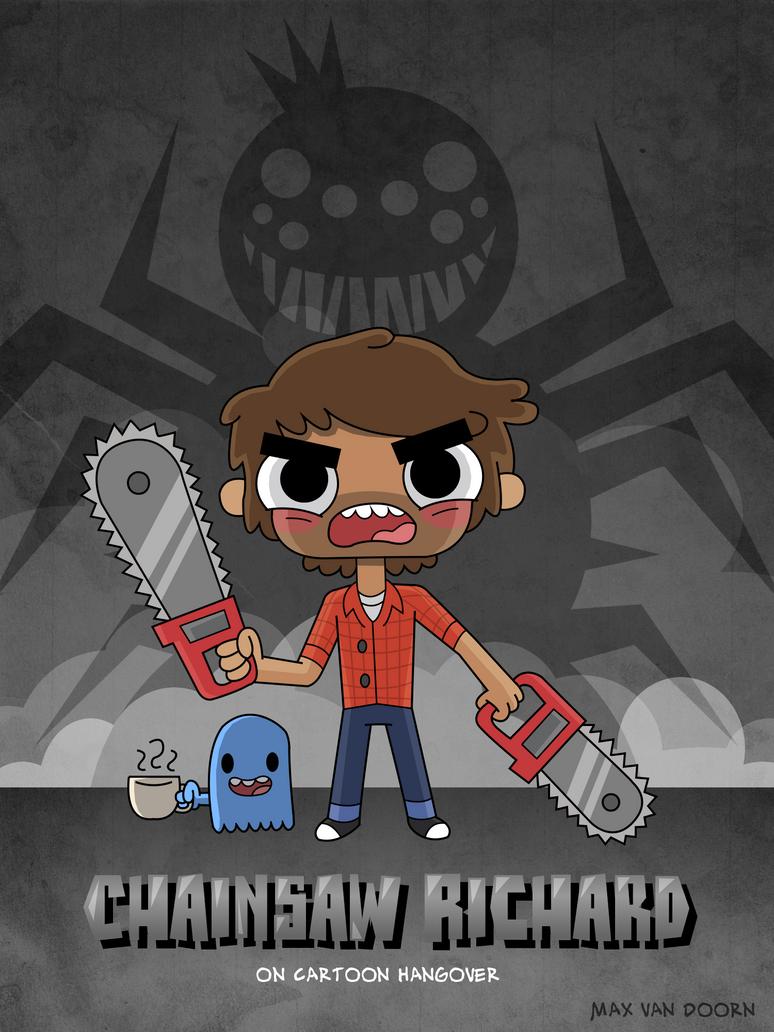 Chainsaw Richard by MaxGraphix