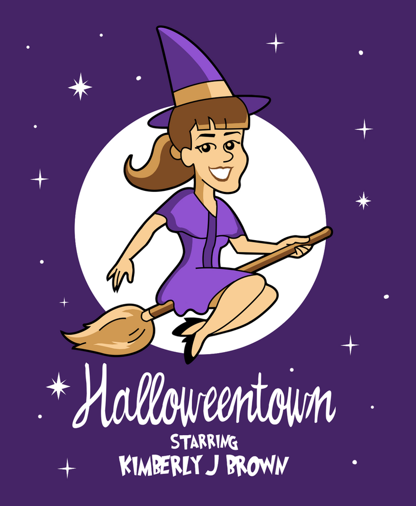 Halloweentown Witch by MaxGraphix
