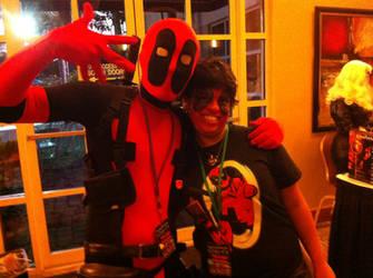 Deadpool and Deadpool Fan! by AxelsPurpleRose