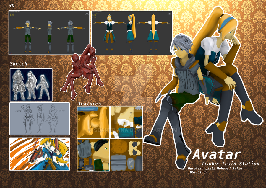 Avatar board by seantriana