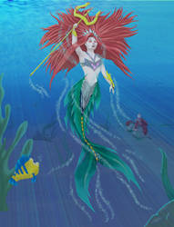 Little Mermaid really finished by Jikster