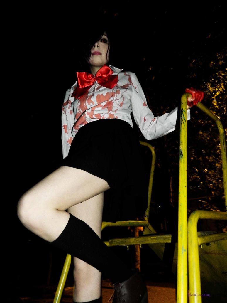 Touka Kirishima cosplay Tokyo Ghoul by LadyNelliel