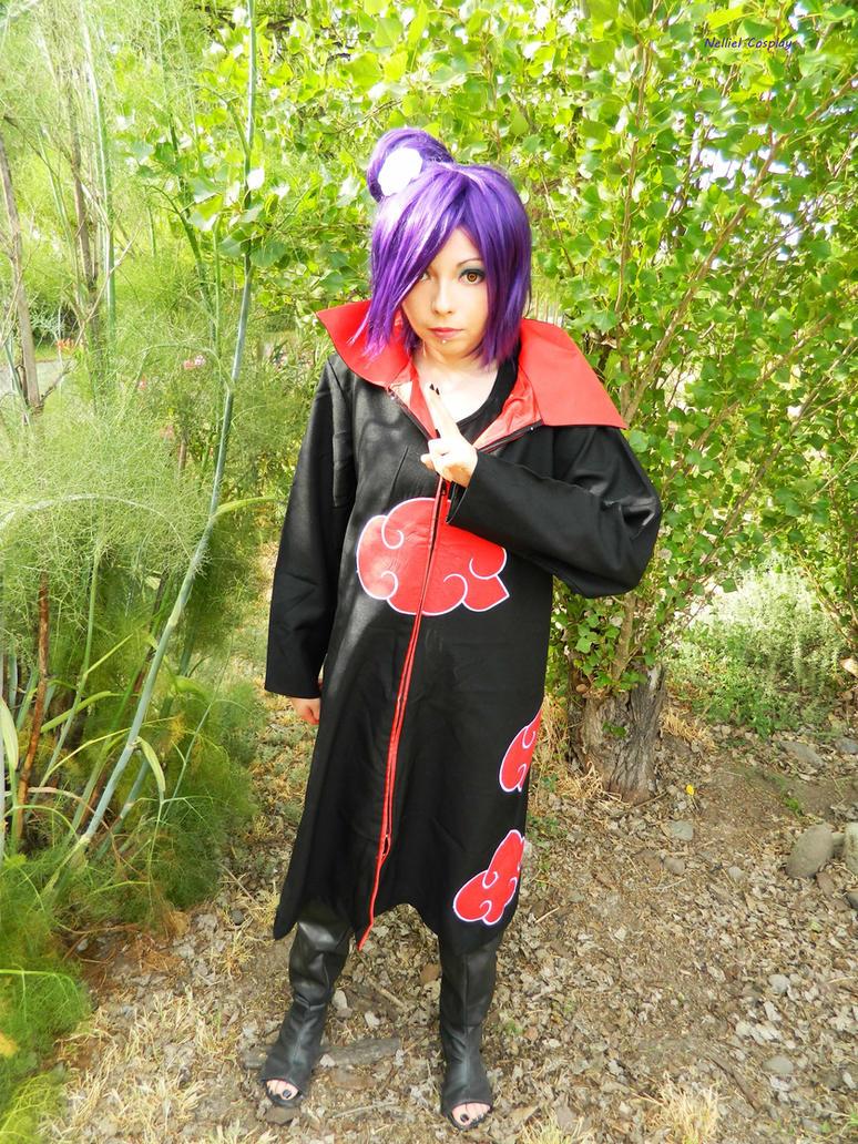 Konan Akatsuki cosplay by LadyNelliel