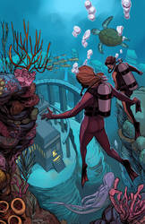 Divers Colored