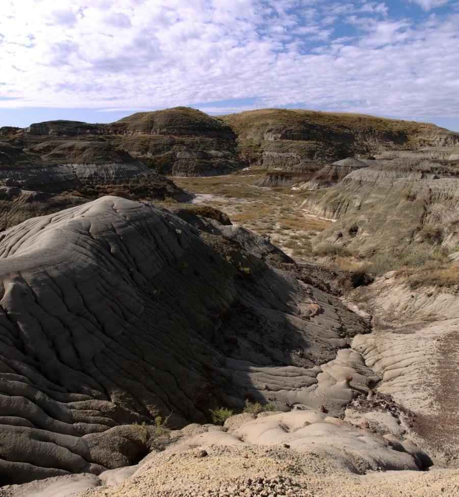 Badlands Panorama by HerrHaller