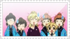 Ouran stamp by wallabby