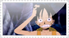 Luffy stamp by wallabby