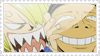Sanji and Zoro stamp by wallabby