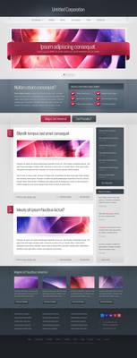 Studio/blog theme design