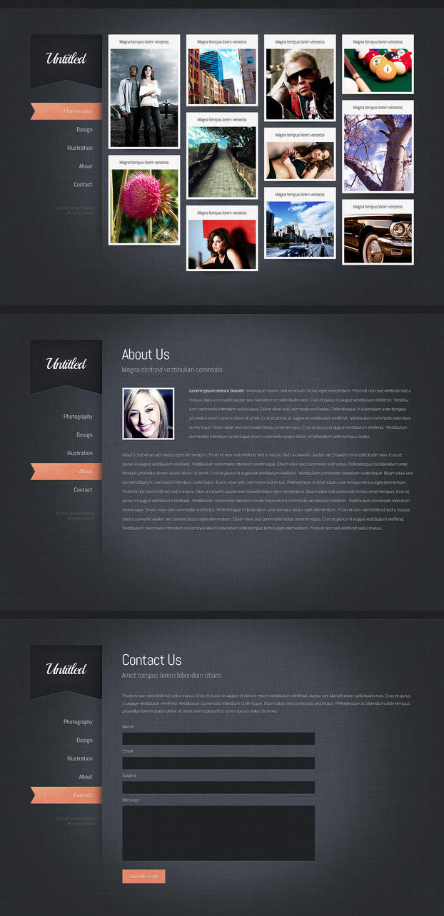 Interactive Portfolio Theme by nodethirtythree