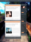 Glassy Blog Theme