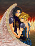 FFVII: Zack x Cloud