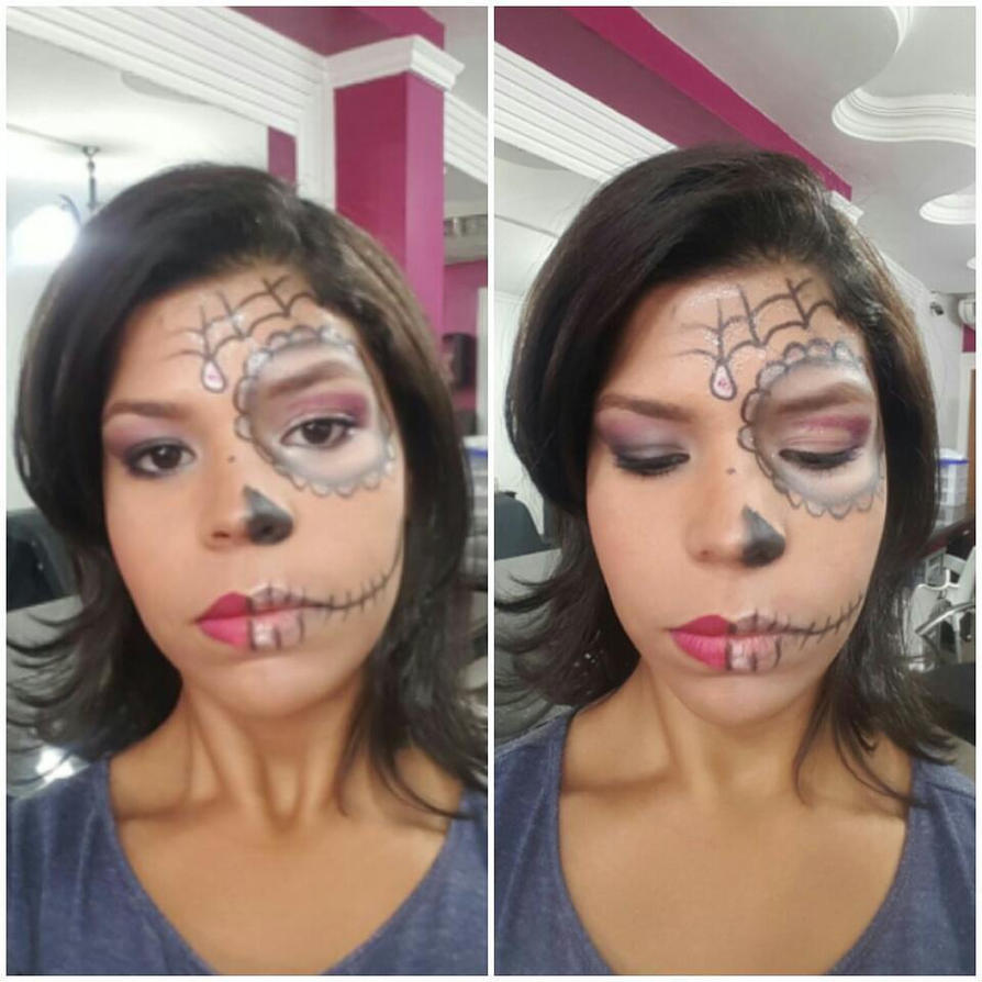 Maquillaje Para Halloween: Dama Calavera by MichelleCrea
