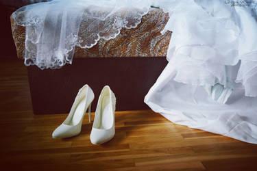 Bridal shoes by ljenda