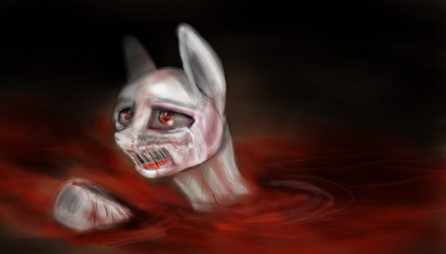 drowned in blood by princessAdelaide